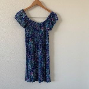 Forever 21 blue boho dress ❤️